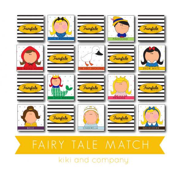 Fairy Tale Match from kiki and company. LOVE it!