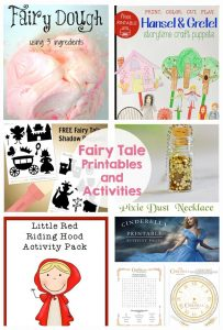 Fairy Tale Printables and Activities - My kids will love doing these this summer!