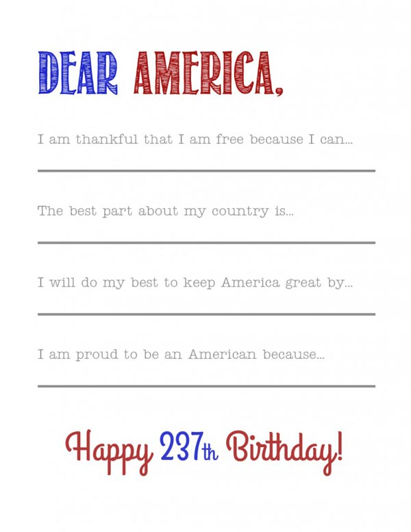 Patriotic Kids Activities and Printables - The Crafting Chicks