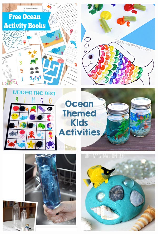 Ocean Themed Kids Activities