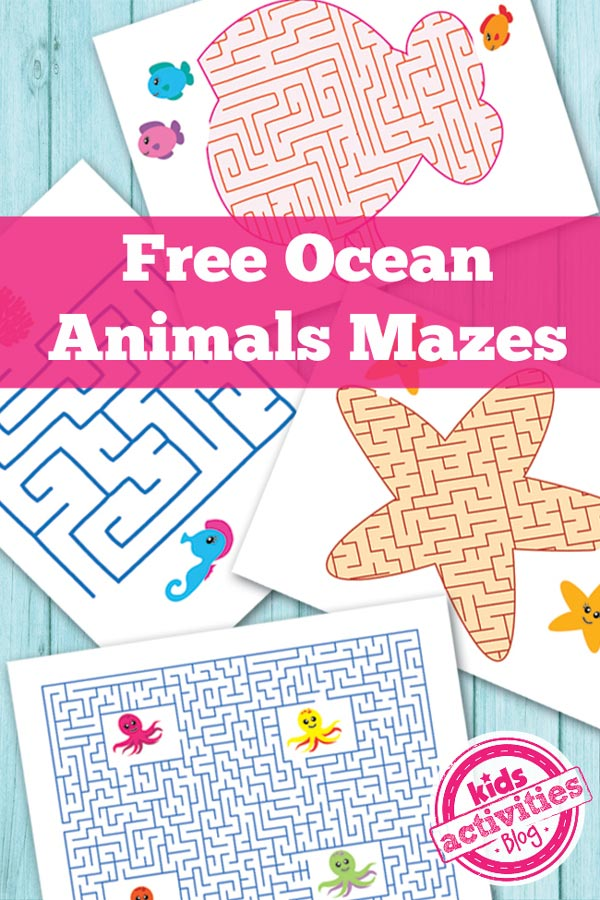 Ocean Themed Kids Activities The Crafting Chicks