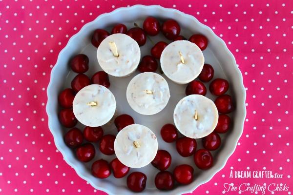 cherry yogurt pops