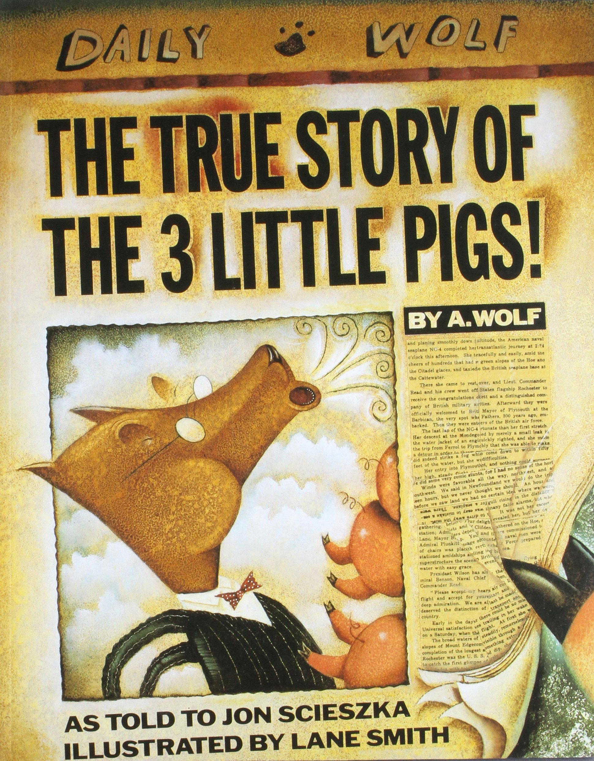 fairy tales the true story of the 3 pigs