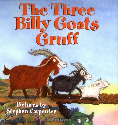 fairy tales three billy goats gruff
