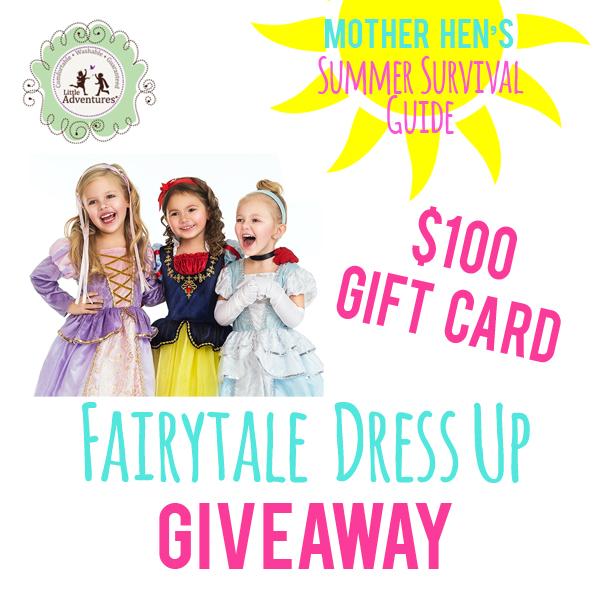 Fairytale Week: Dress Up Giveaway!