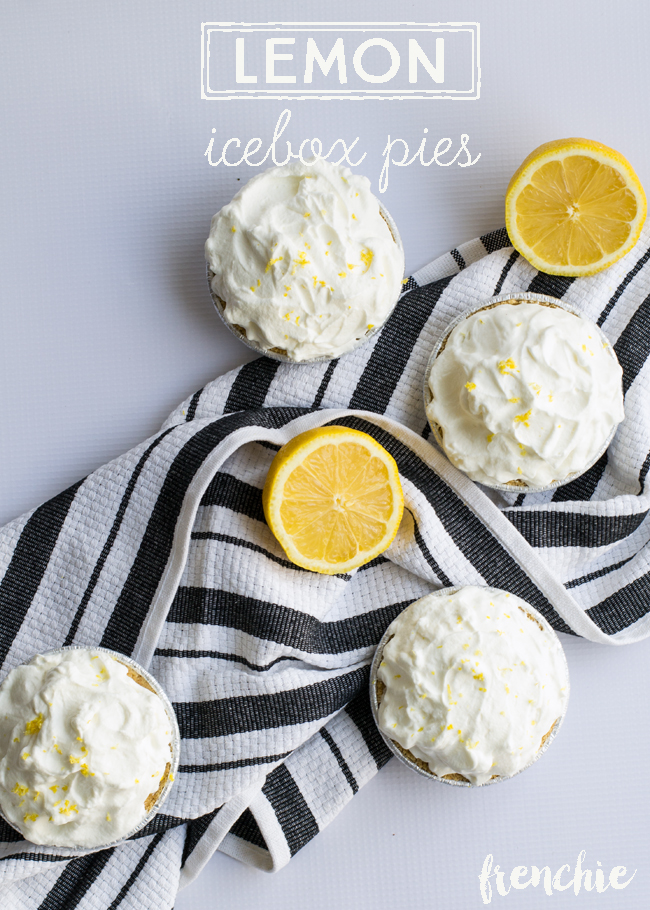 mini icebox lemon pie