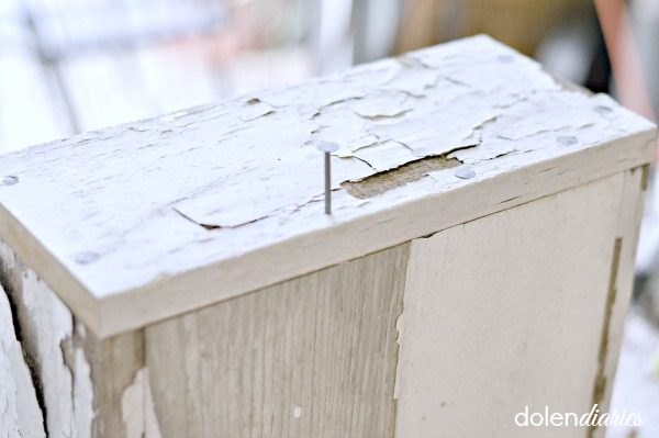 shabby chic decorative box