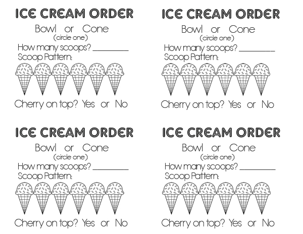 sm ice cream order form