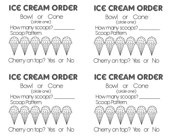 sm ice cream order form