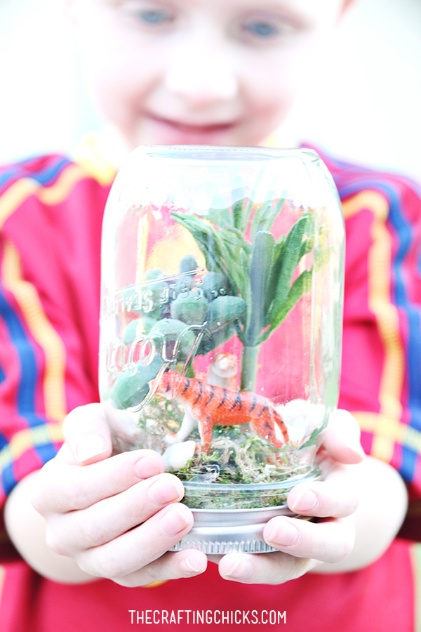 Rainforest Kid Craft