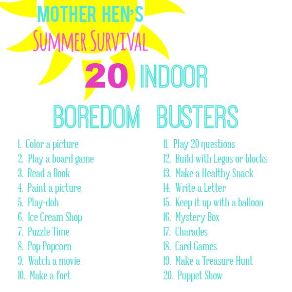 sm summer boredom busters indoor