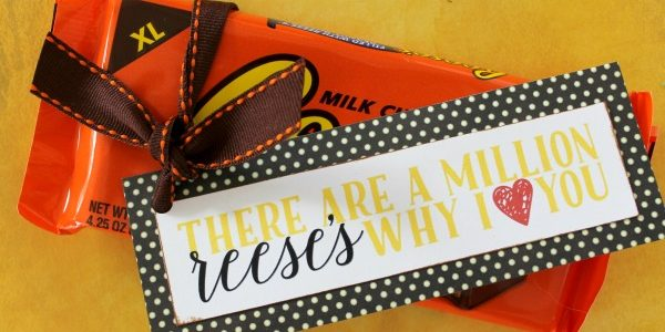I Miss You Candy Grams with Printable