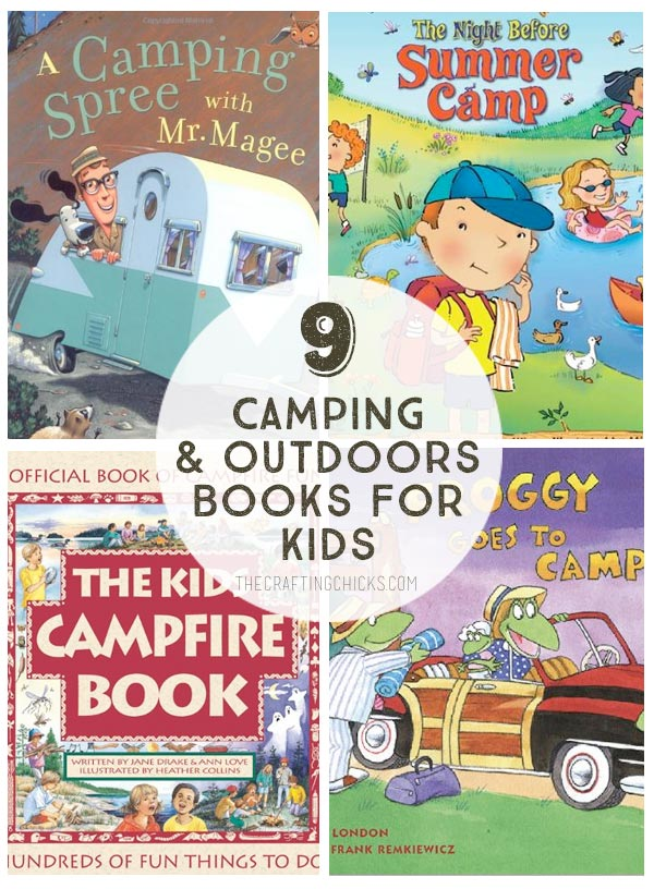 Camping Kids Books