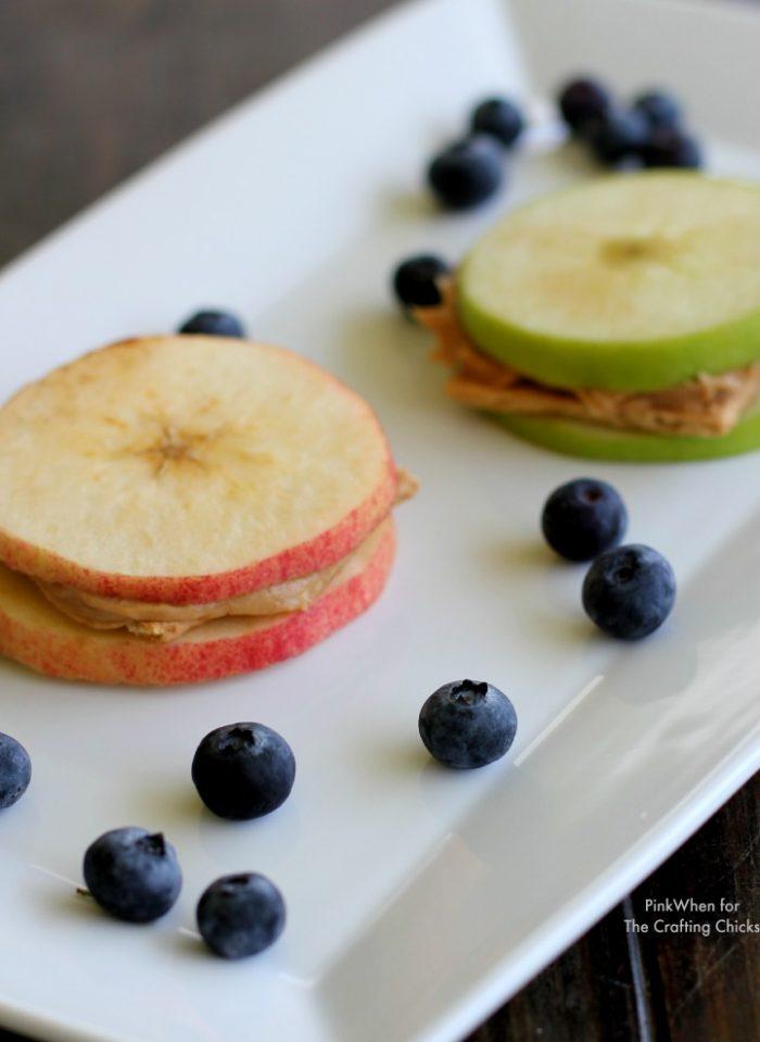 Apple Sandwich Snack
