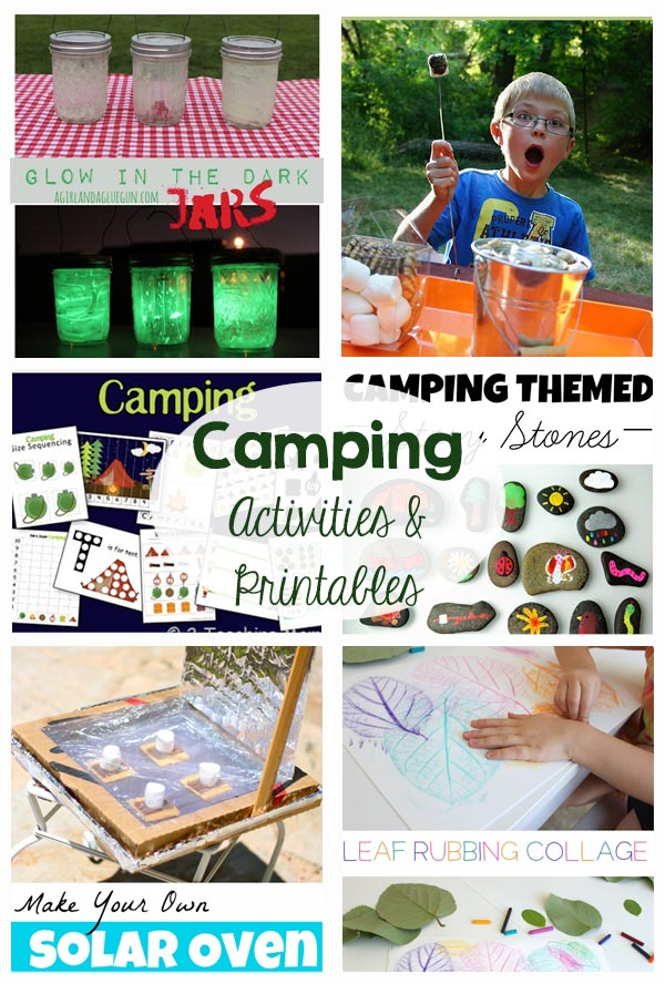 Camping Activities and Printables
