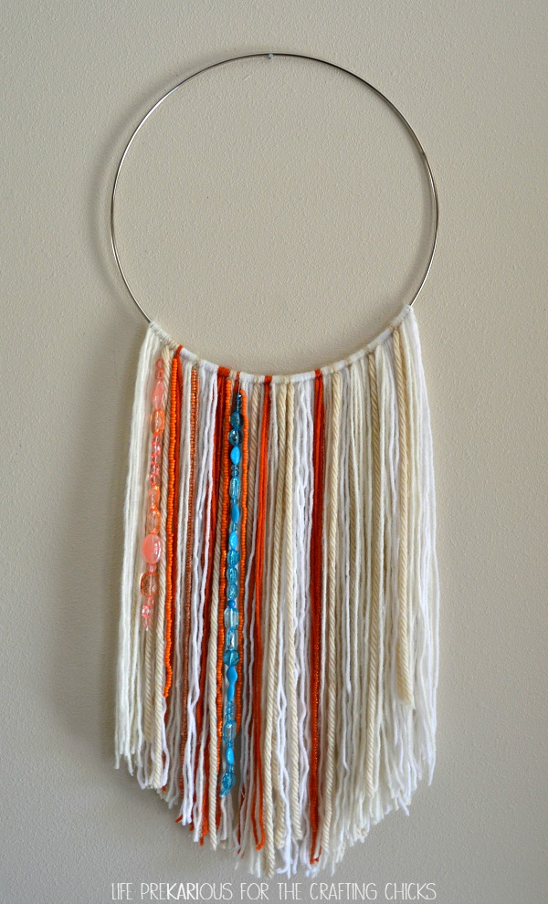 Easy DIY Wall Hanging - The Crafting Chicks