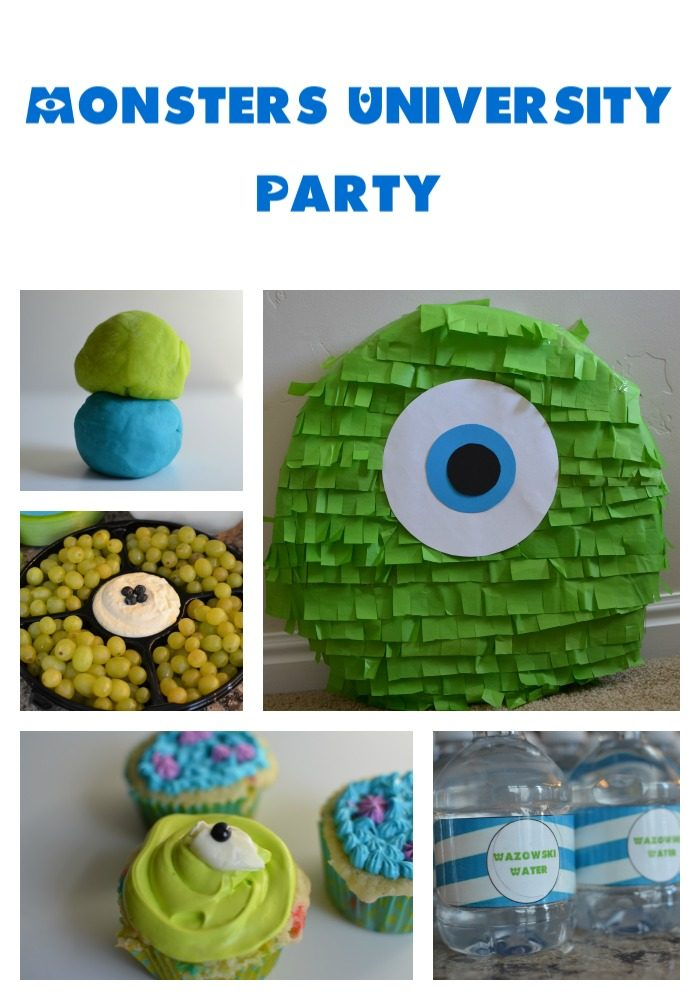 Monsters University Party Ideas www.tastefullyfrugal.org