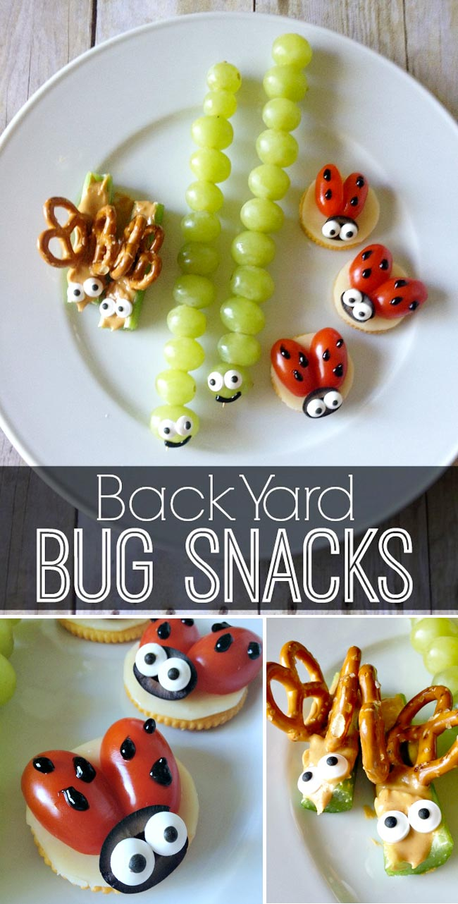 Backyard Bug Snacks