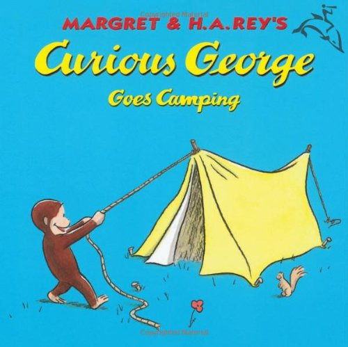 camping curious george