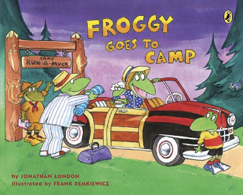 camping froggy goes to camp