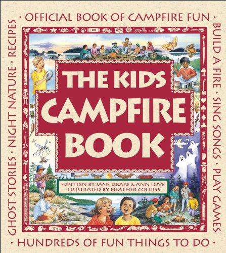 camping kids campfire book
