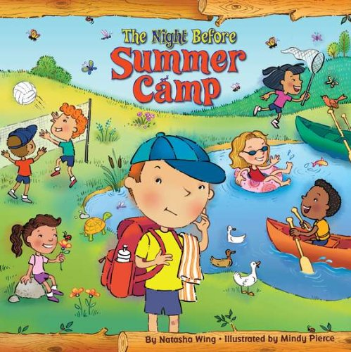 camping the night before summer camp