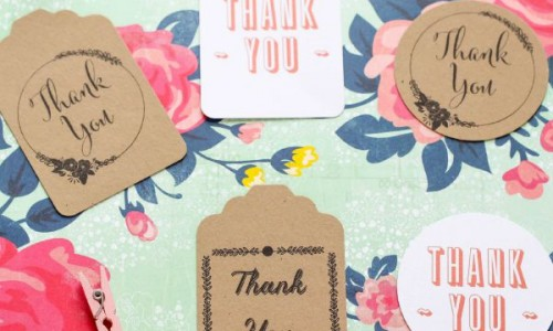 featured image - thank you tags The Crafting Chicks
