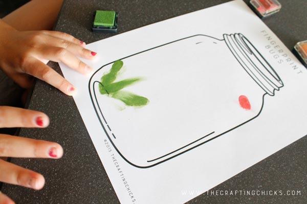 fingerprint-bug-making