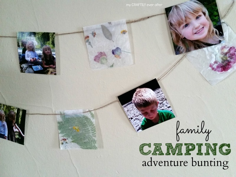 Camping Adventure Photo Bunting