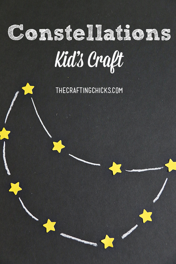 Constellations kids craft