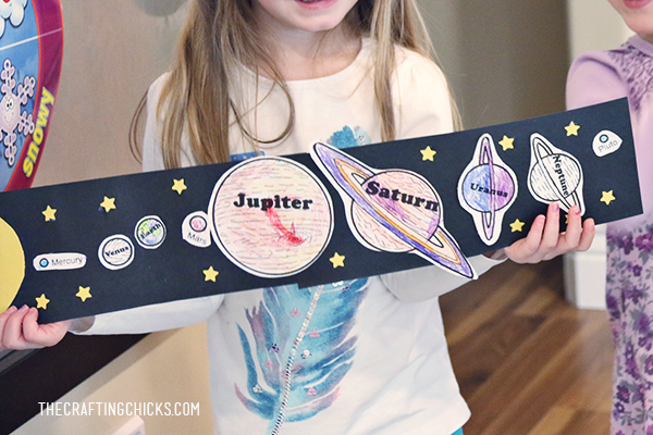 Solar System Craft | Kids Craft | Kids Activity | Space Activity | Space Craft