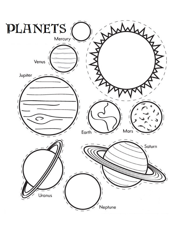 solar eclipse coloring pages - photo#30