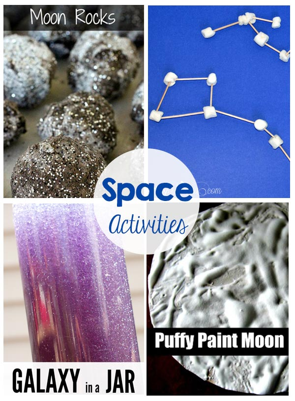 space activities and printables the crafting chicks