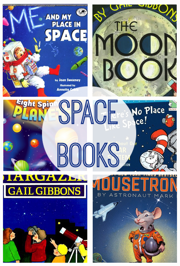 space books collage