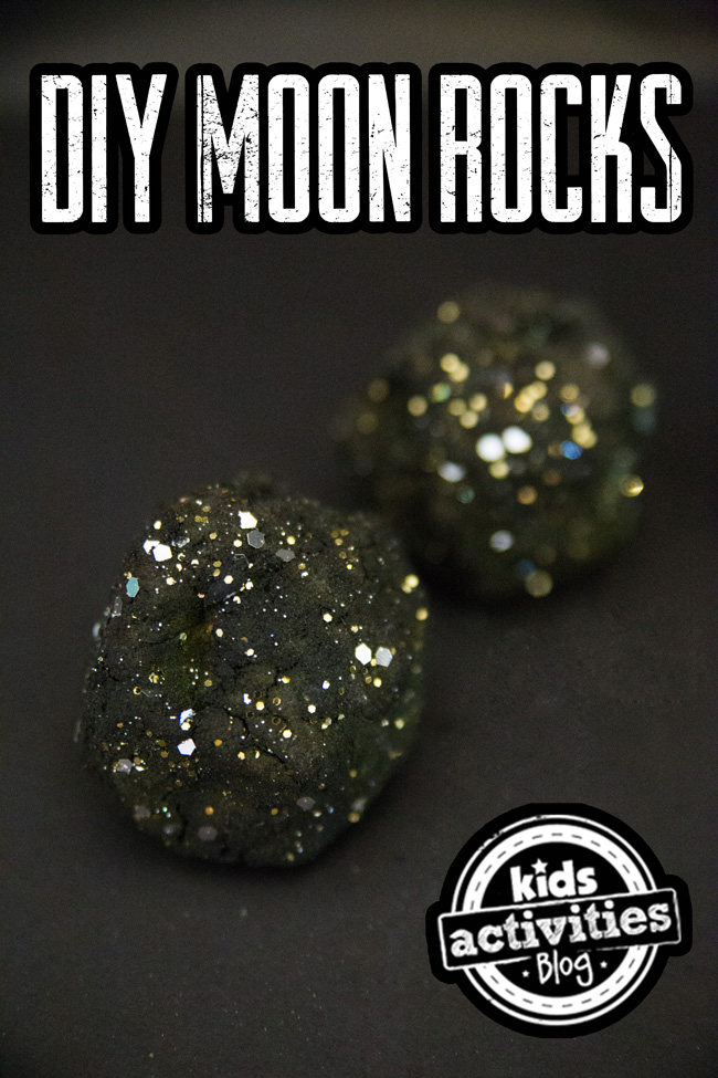 space moon rocks