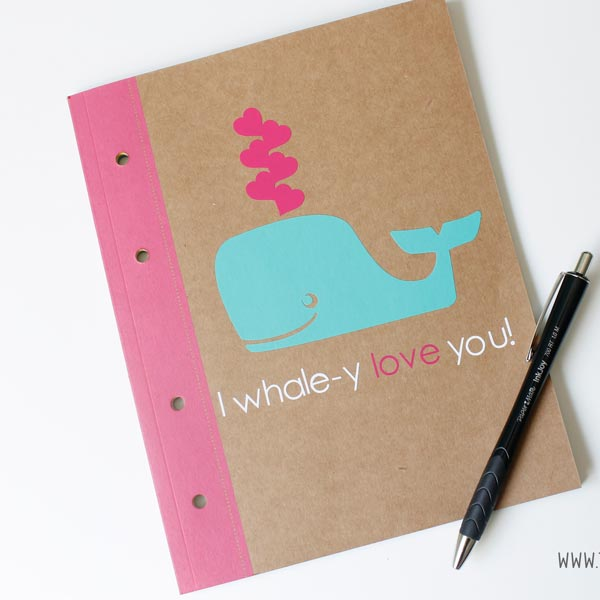 I Whale-y Love You Notebook
