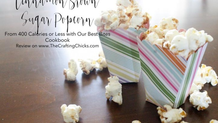 Cinnamon and Brown Sugar Popcorn