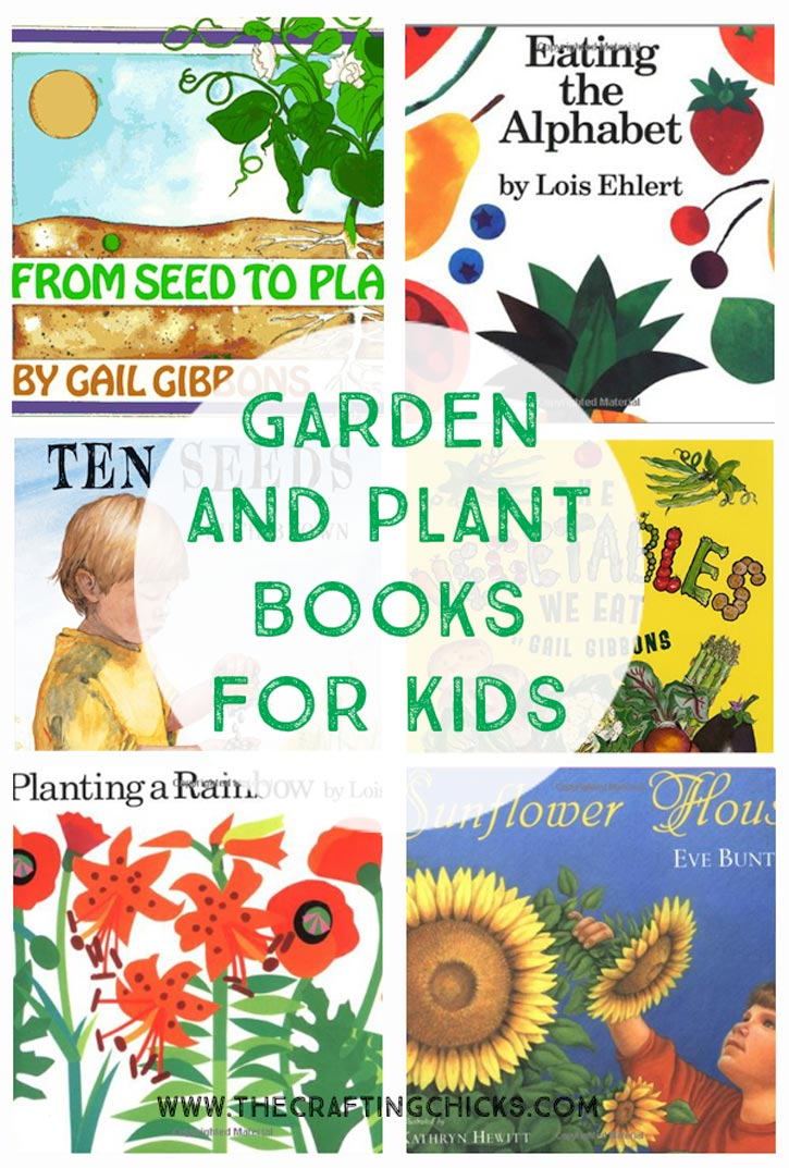 Garden and Plant Books for Kids
