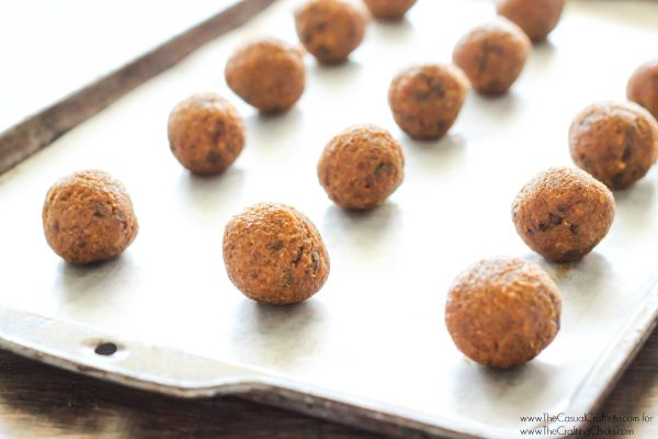 Grain Free Pumpkin Energy Bites