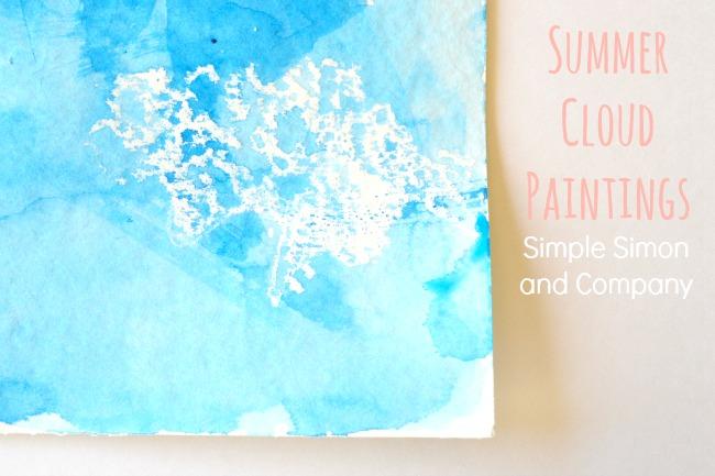 Summer Cloud Paintings Title