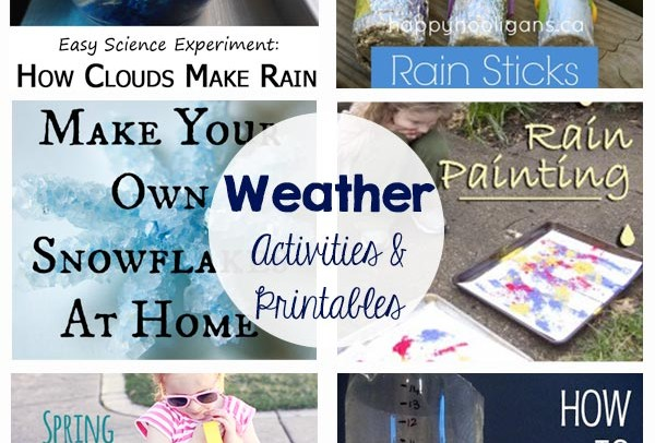 Weather – Activities and Printables