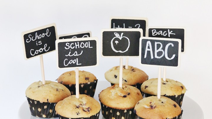 Back to School Muffin Toppers