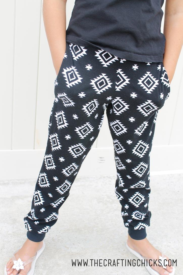 girls-aztec-pants