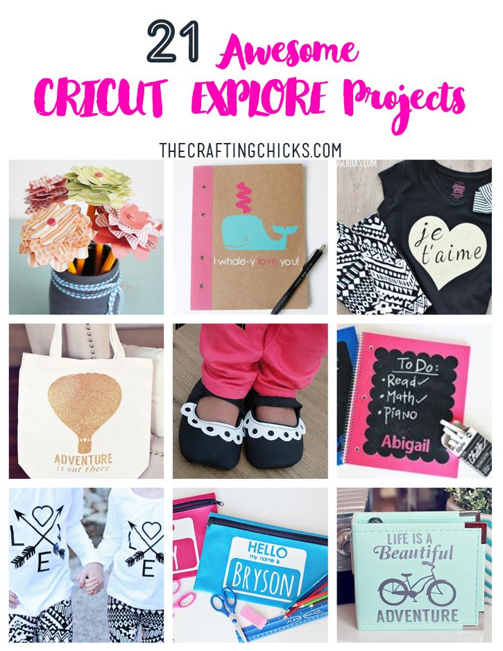 cricut machine projects