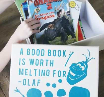 Olaf Book Box