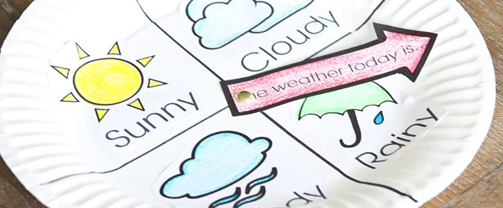 Weather Chart Kid Craft