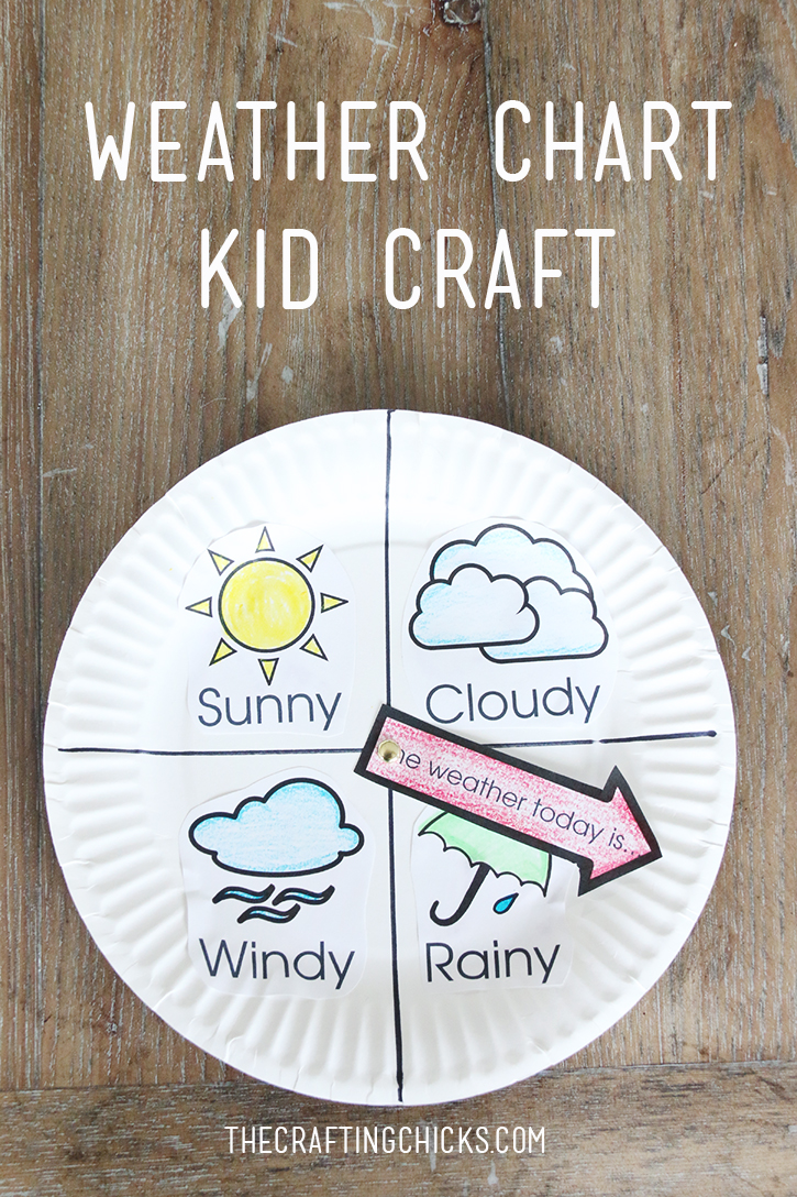 Weather Chart Kid Craft on Weather Theme Preschool Activities And Crafts 2