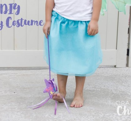 DIY Fairy Costume