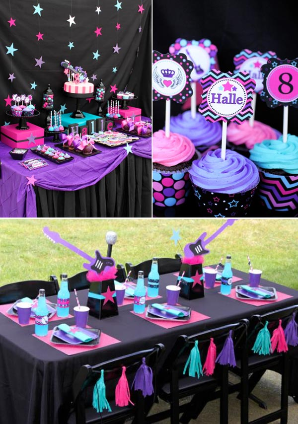 Party Ideas For Girls The Crafting Chicks