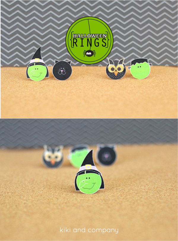 Halloween Rings from kiki and company. Cute!